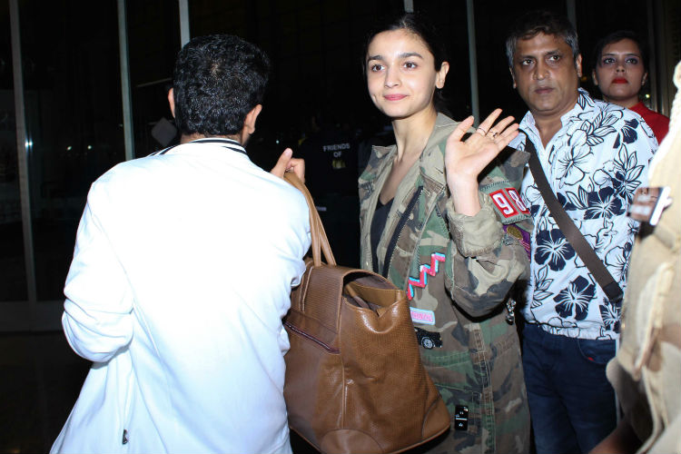 Alia Bhatt at the airport