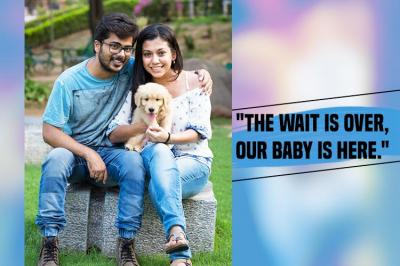 Akash Anand, Janhavi Anand, Photographs, Chandigarh couple, Pawrents, Social media, Facebook, Babies, Chandigarh, Puppy, Golden Retriever, Dog, Dog lovers, Couple, Newly Married Couple, Baby, Relatives, Indian society, middle class mentality, society pressure, married couple