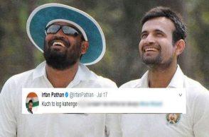 Yusuf Pathan, Irfan Pathan, Irfan Pathan wife troll
