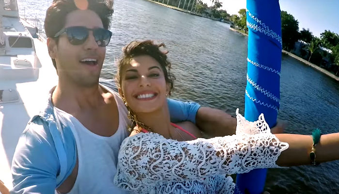 Jacqueline Fernandez and Sidharth Malhotra in A Gentleman trailer
