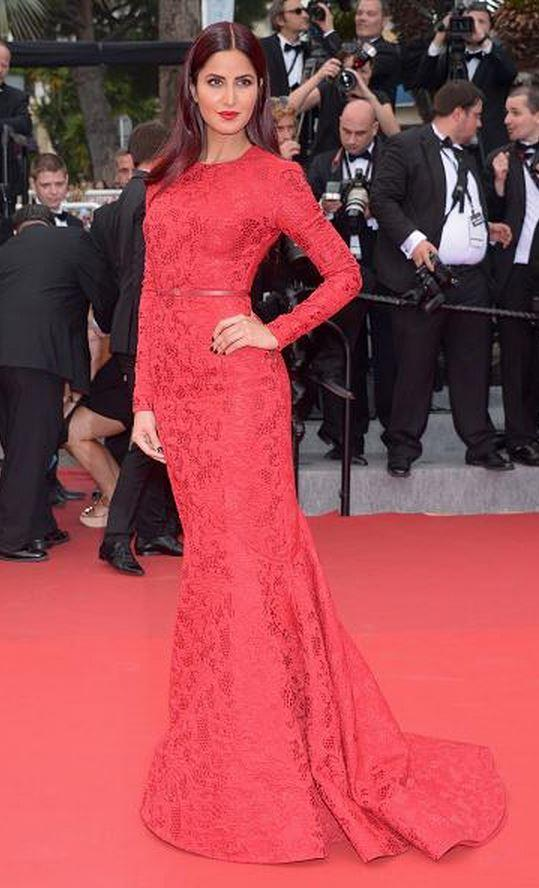 Katrina Kaif in Ellie Saab Gown at Cannes 2105
