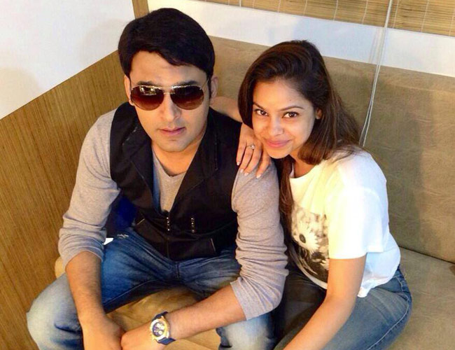 Kapil Sharma And Sumona Chakravarti