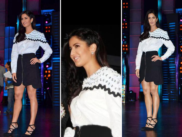 Katrina promoting Phantom on Dance Plus
