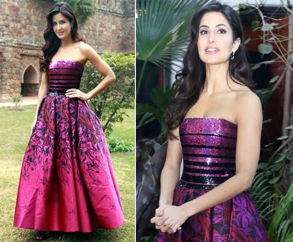 Katrina Kaif in George Chakra's Princess style gown