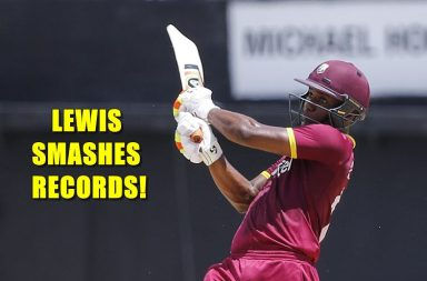 Evin Lewis, India vs West Indies, Evin Lewis T20I records, Evin Lewis centuries
