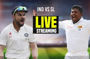 India vs Sri Lanka 1st Test Day 2 at Galle Live Streaming