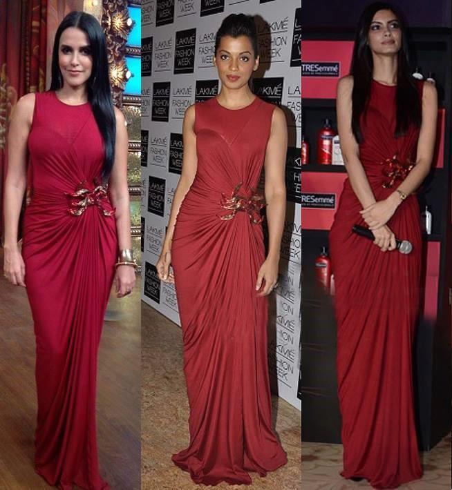 Neha Dhupia, Mugdha Godse and Diana Penty