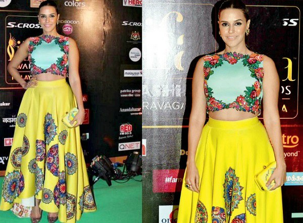 Neha Dhupia at IIFA 2015