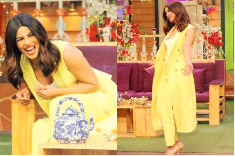 Priyanka Chopra in The Kapil Sharma Show (Photo: Facebook/Kapil Sharma)