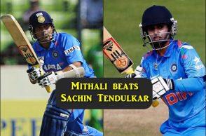 Mithali Raj, Sachin Tendulkar, Women ODI records