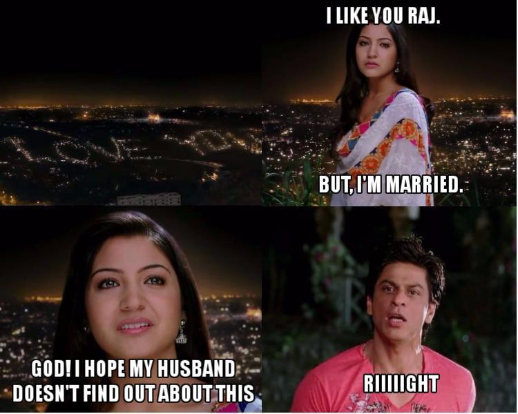 Rab Ne Bana Di Jodi, Shah Rukh Khan, Anushka Sharma