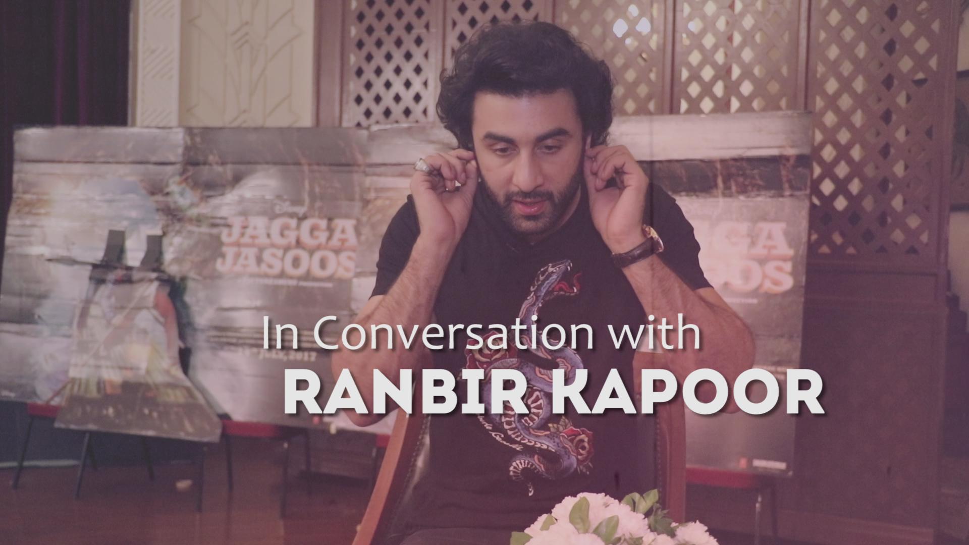 Ranbir kapoor on jagga jasoos i katrina kaif anurag basu have worked very hard on it the indian express - Interview Ranbir Kapoor Opens Up On Life Movies And Katrina Kaif Like Never Before