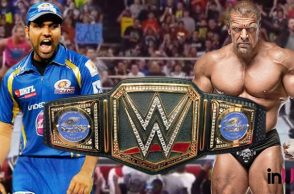 WWE, Rohit Sharma, Championship belt, Triple H