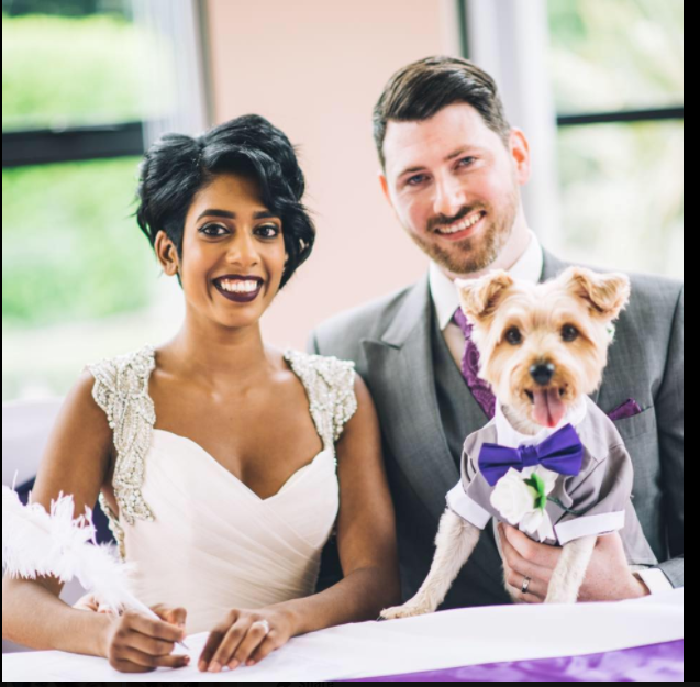 Ring Bearer puppy