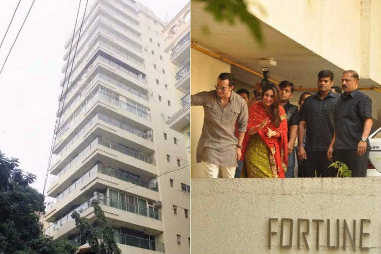 Saif Ali Khan's residence at Fortune Heights