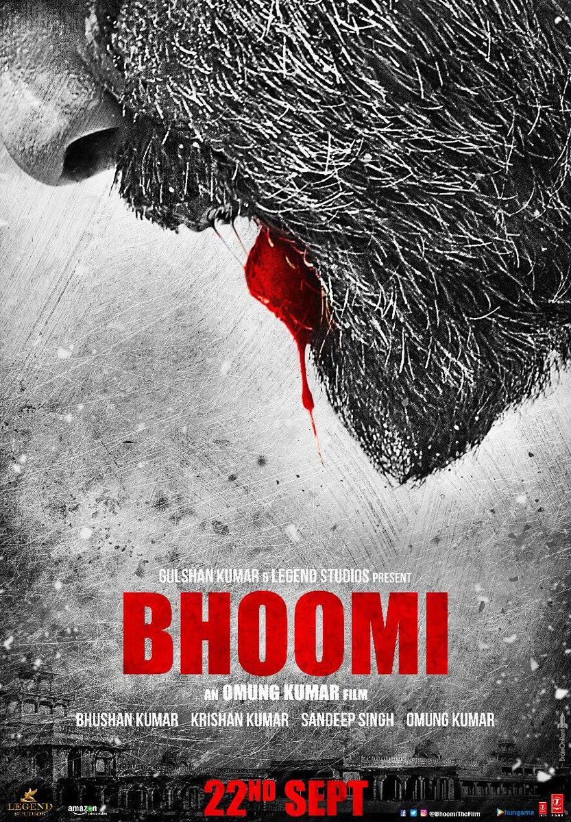 Sanjay Dutt in Bhoomi teaser poster