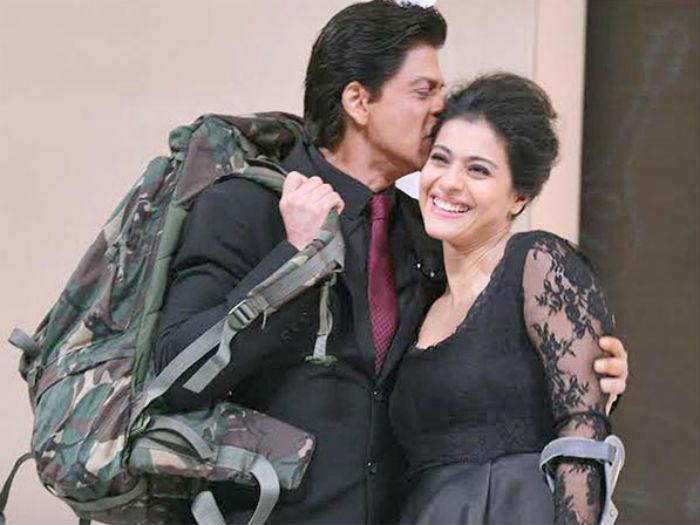 Shah Rukh Khan forehead kiss