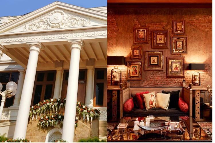 Shah Rukh Khan's residence Mannat