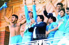 Sourav Ganguly,shirtless, Birthday, Lord's celebration