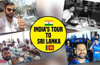 Team India in Sri Lanka
