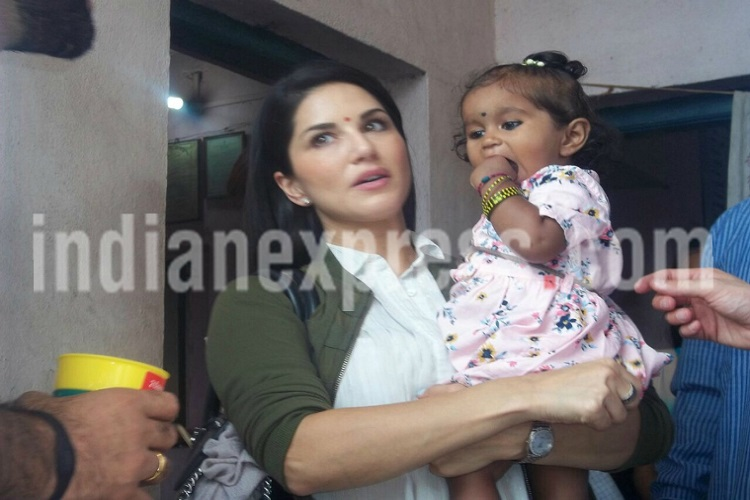 Sunny Leone and Daniel Weber adopts a 21 months baby girl Nisha