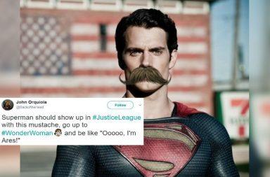Superman, Henry Cavill, Moustache, Justice League