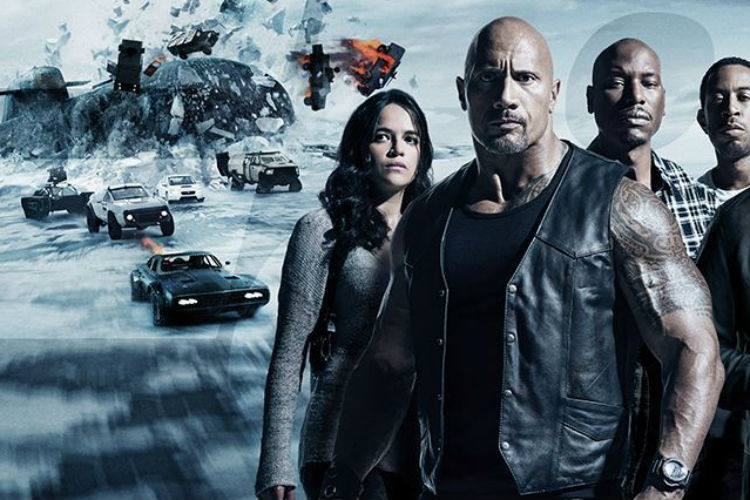The Fate of the Furious, Hollywood Film