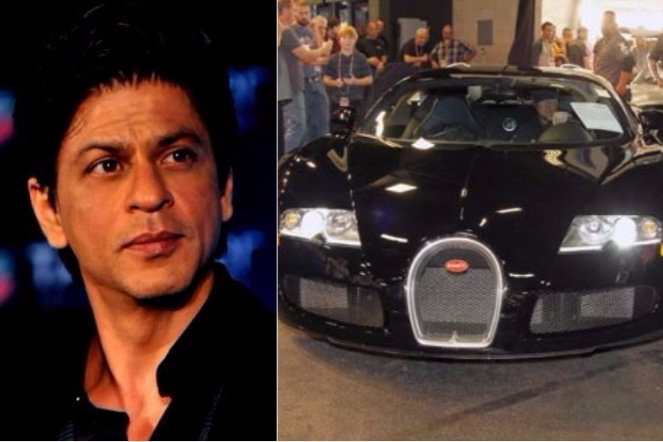 Shah Rukh Khan and his Bugatti Veyron
