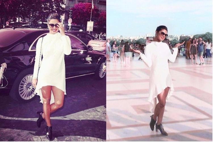 Priyanka Chopra in Paris Fashion Week