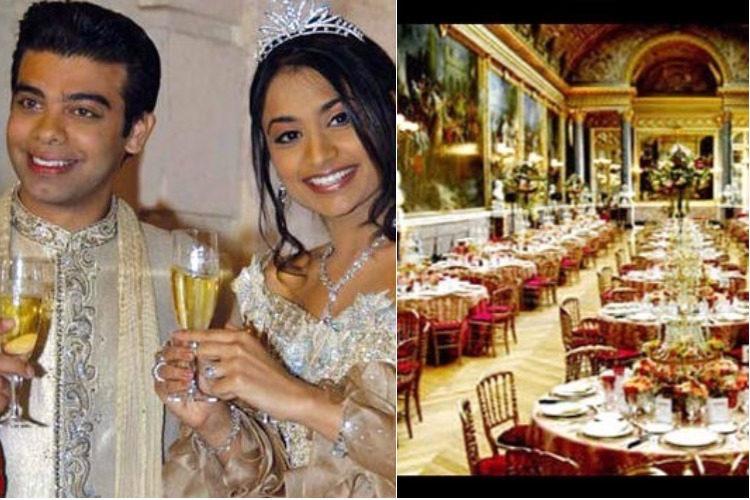 Vanisha Mittal and Amit Bhatia wedding