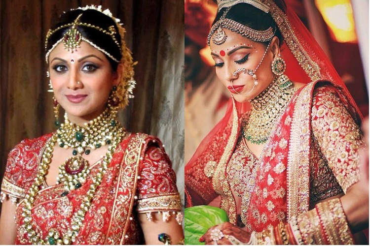 9 most expensive wedding dresses worn by Bollywood actresses. Shilpa ...