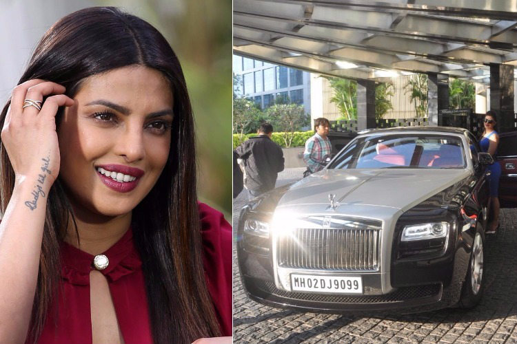 Priyanka Chopra and her Rolls Royce