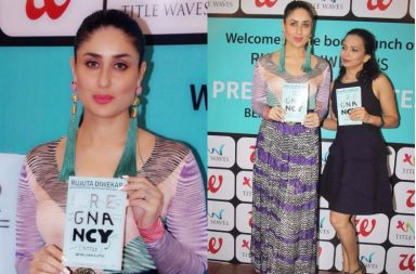 Kareena Kapoor at the launch of Pregnancy Notes