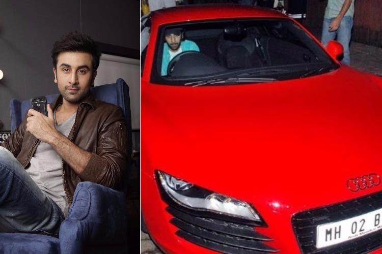 Ranbir Kapoor and his Audi R8