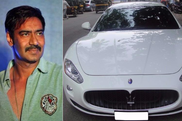 Ajay Devgn and Maserati Quattro