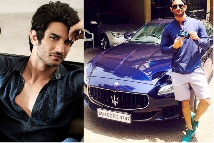 Shushant Siingh Rajput flaunts his Maserati