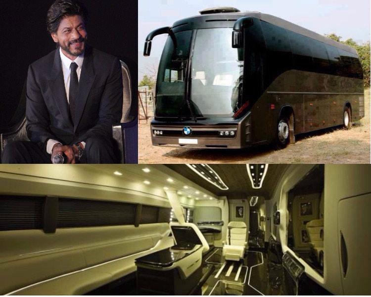 Shah Rukh Khan's vanity van