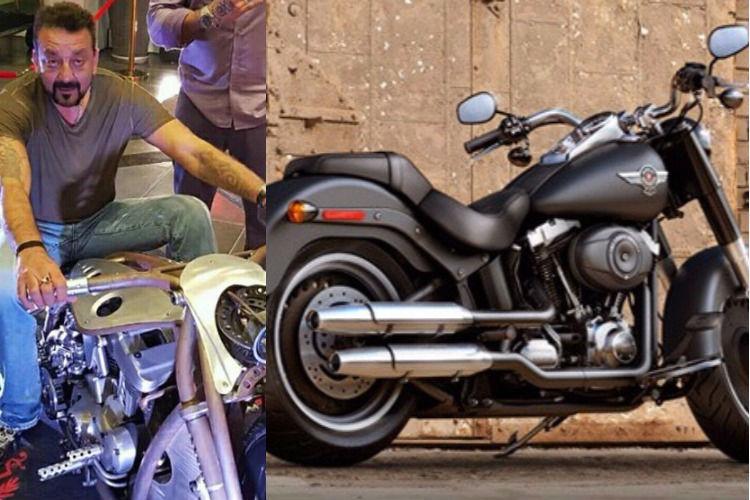 Sanjay Dutt and his Ducati