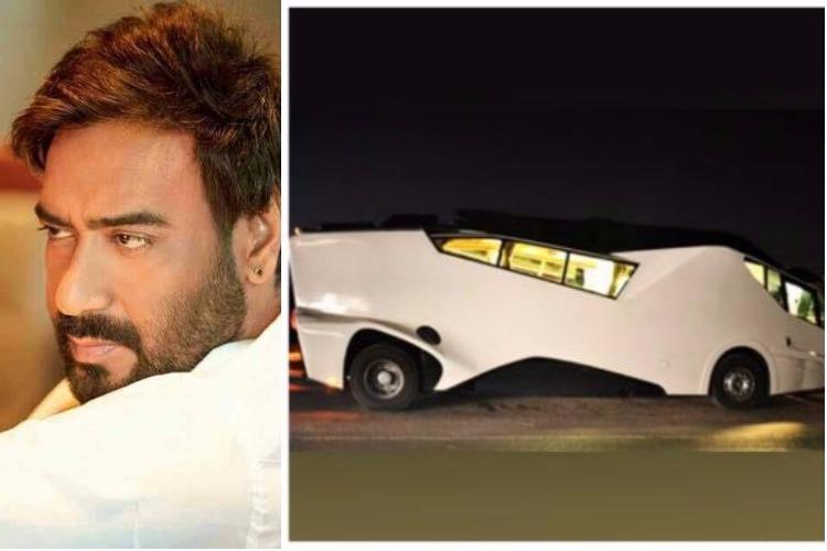 Ajay Devgn vanity van