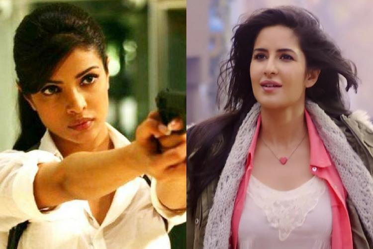 Priyanka Chopra, Katrina Kaif, Bang Bang