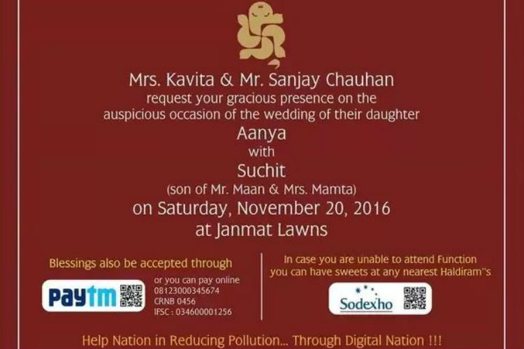 Wedding Invitation, Indian Wedding