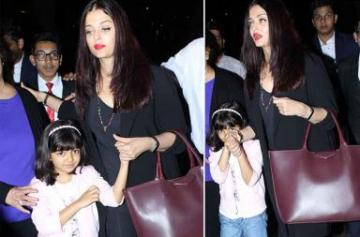 Aishwarya Rai spotted at the airport photo