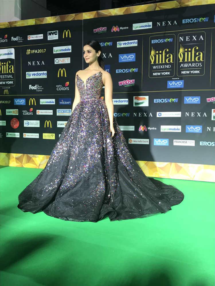 Alia Bhatt at IIFA 2017