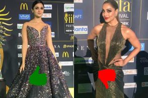 Alia Bhatt and Bipasha Basu at IIFA 2017
