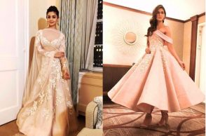 Alia Bhatt, Kriti Sanon at IIFA Rocks green carpet