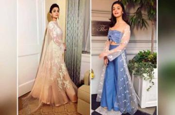 Alia Bhatt slays in two looks