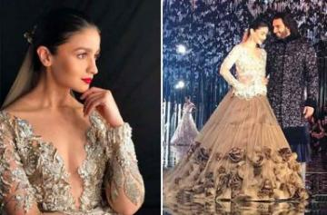 ICW 2017: Alia Bhatt and Ranveer Singh walk the ramp Photo