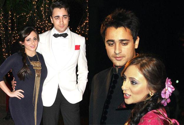 Imraan Khan and Avantika Malik