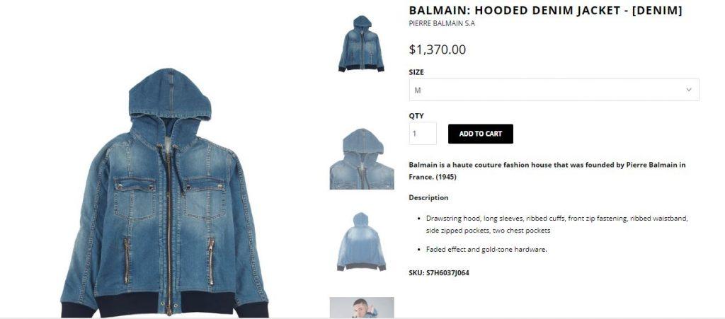 Aryan Khan denim jacket cost