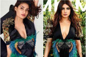 Athiya Shetty and Priyanka Chopra in Gucci